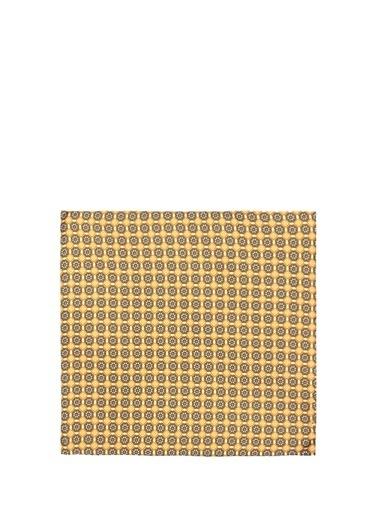 Lardini Lardini  Mikro Geometrik Desenli İpek Poşet Mendil 101380963 Renkli